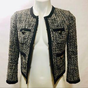 J. Crew Tweed Cropped Blazer Sz 00